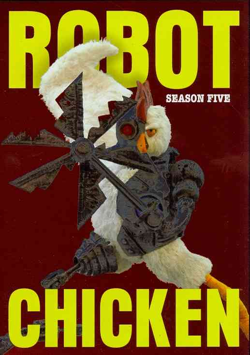 ROBOT CHICKEN:SEASON FIVE BY ROBOT CHICKEN (DVD)