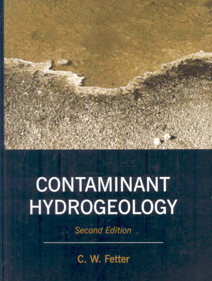 Contaminant Hydrogeology By Fetter, C. W.